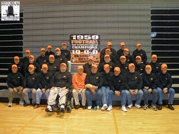 The team in 2009 for the 50th Anniversary