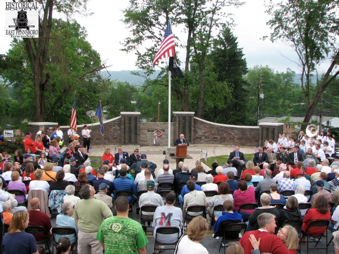 Legion Memorial Dedication