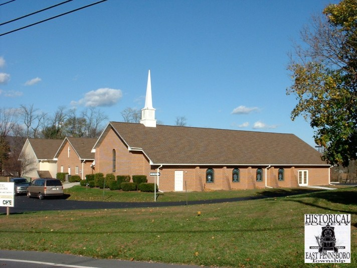 Modern United Methodist Church in Enola